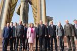 Состоялся визит в Республику Таджикистан делегации Совета Федерации во главе с Председателем Совета Федерации Федерального Собрания Российской Федерации В.И.Матвиенко.