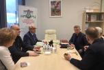 Встреча Исполнительного директора ассоциации Владимира Лищука с руководителями компании