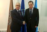 В Центральном офисе Евразийской Организации Экономического Сотрудничества состоялись переговоры с Генеральным Секретарём ЕОЭС В.В.Пискуревым.