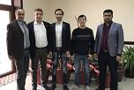 В соответствии с достигнутыми 15.02.18 года договорённостями в Самарканд прибыла рабочая группа членов НАОРЦ во главе с руководителем Южного филиала Маратом Атаевым.