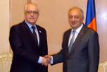 Рабочая встреча в посольстве Армении