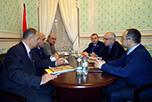 переговоры между специалистами НАОРЦ и сотрудниками посольства Республики Таджикистан