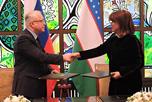 в рамках государственного визита Президента Республики Узбекистан Ш.М.Мирзиёева в Российскую Федерацию состоялось подписание договоров и соглашений, направленных на укрепление связей между нашими странами и народами