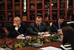В Торгово-промышленной палате РФ, под председательством вице-президента ТПП В.Падалко,  прошло очередное заседание Делового совета по сотрудничеству с Таджикистаном, в работе которого приняли участие руководители НАОРЦ и члены Ассоциации.
