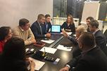 В бизнес-центре 'Манхеттен' состоялось выездное заседание Московской торгово-промышленной палаты.