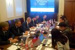переговоры с руководством компании 'Xinjiang China-Euro Combine Logisting co.,Ltd'
