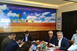 В конференц-зале АО 'ДагАгроСнаб' (пер.Крылова, д.7) состоялась рабочая встреча