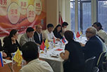 В Представительстве Китайского комитета содействия международной торговли и Китайской палаты международной торговли на проспекте Андропова состоялись переговоры между Генеральным представителем господином Сюй Цзиньли и Исполнительным директором НАОРЦ Владимиром Лищуком.