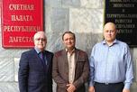 Рабочая встречу с руководителем проекта строительства республиканских экотехнопарков Андреем Лесновским