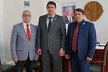 Переговоры с Министром сельского хозяйства и продовольствия республики Дагестан Абзагиром Гусейновым