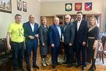 побывали в селе Кармаскалы, где встретились с главой администрации муниципального образования Фазилем Чингизовым