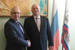 В офисе Российской торгово-промышленной компании РОСМЯСОМОЛТОРГ состоялась рабочая встреча