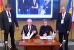 подписание 'Соглашения о взаимодействии' между НАОРЦ и Международным центром бизнес-коммуникаций 'Валорэкспо' (Республика Сан-Марино)