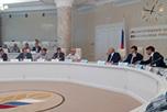 совещание на тему: 'О ходе реализации инвестиционных проектов создания оптово-распределительных центров и их задействования в целях наращивания экспорта продукции агропромышленного комплекса'