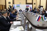 Заседание Российско-Узбекского и Узбекско-Российского деловых советов
