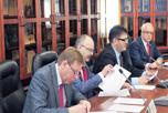 В Торгово-промышленной палате РФ, под председательством вице-президента ТПП В.Падалко,  прошло очередное заседание Делового совета по сотрудничеству с Таджикистаном